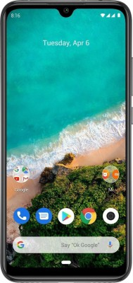 Mi A3 (Kind of Grey, 128 GB)(6 GB RAM)