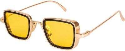 Elegant Rectangular Sunglasses(Yellow)