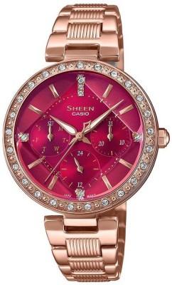 Casio SX256 Sheen Analog Watch  – For Women