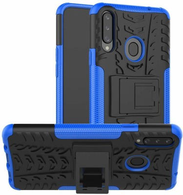 Outlier Back Cover for Samsung Galaxy A20s(Blue)
