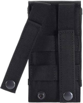 Saco Wallet Case Cover for 2 Pocket Belt Waist Packs Pouch Holster Cover Case for Mobile Phone & Power Bank Running Jogging(Black, Holster)