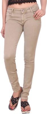 Airways Regular Women Beige Jeans Airways Women's Jeans