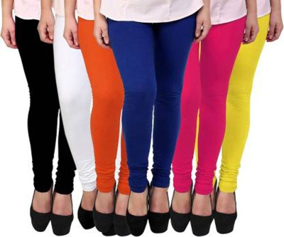 alif Churidar  Legging(Multicolor, Solid)