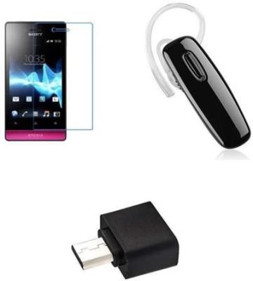 MudShi Screen Protector Accessory Combo for Sony Xperia miro(Multicolor)