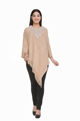 Shree Mark Wool Blend Poncho