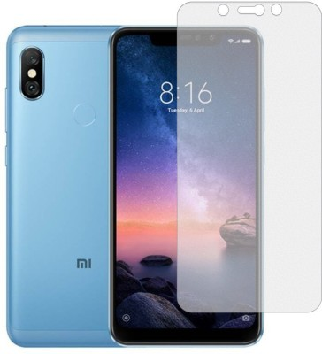 Fovtyline Tempered Glass Guard for Mi Redmi Note 6(Pack of 1)