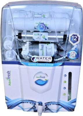 Aqua Fresh audi wave MINERAL+ro+uv+uf+tds 12 L 12 L RO + UV + UF + TDS Water Purifier(White)
