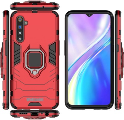 Wellpoint Back Cover for MI Redmi Note 8, Plain, Case, Cover(Red, Grip Case)