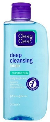 Clean & Clear Deep Cleansing Lotion Sensitive Skin 200ml(200 ml)