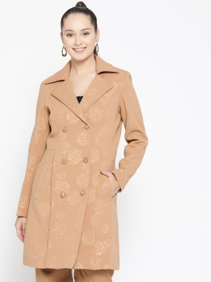 Trufit Polyester Self Design Coat