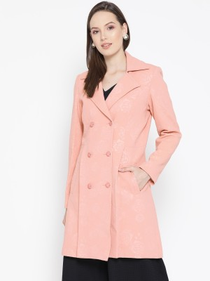 Trufit Polyester Self Design Coat