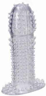 cosmetize Extra Dotted Dragon Magic Condom 100% Pure Silicon Made Crystal Condom Condom(1S)