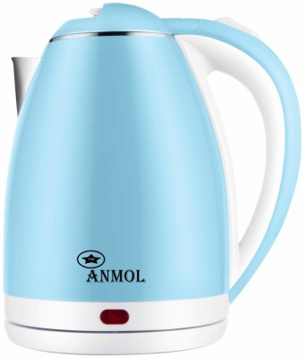 Anmol AM-18 Durable Fine Quality Automatic Switching-Off Protection Electric Kettle(1.8 L, Blue, White)