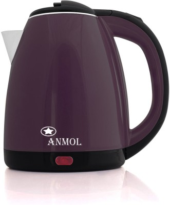 Anmol AM-18 Durable Fine Quality Automatic Switching-Off Protection Electric Kettle(1.8 L, Purple, Black)