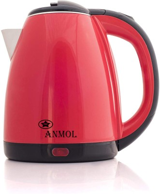 Anmol AM-18 Durable Fine Quality Automatic Switching-Off Protection Electric Kettle(1.8 L, Red, Black)