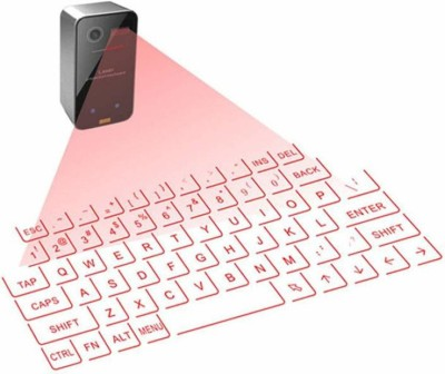 PremiumAV MST-273_DR Virtual Laser Multi-device Keyboard(Black)
