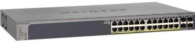 Netgear GS728TP Network Switch Network Switch(Grey)
