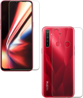 FashionCraft Front and Back Screen Guard for Realme 5, Realme 5s, Realme 5i(Pack of 2)