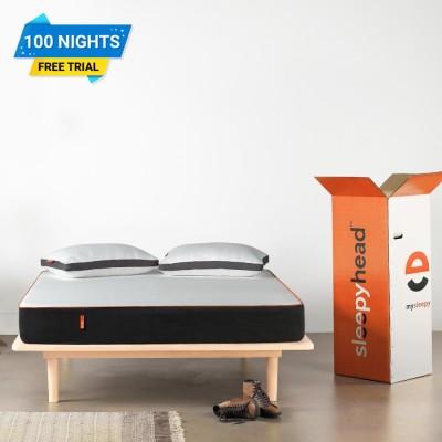 Sleepyhead Orthopedic Memory Foam 6 inch Queen High Density (HD) Foam Mattress(Vacuum Packed)