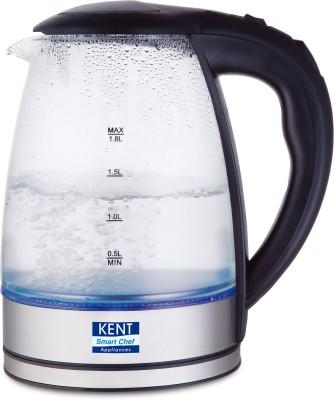 Kent 16052 Electric Kettle(1.8 L, Silver, Black)