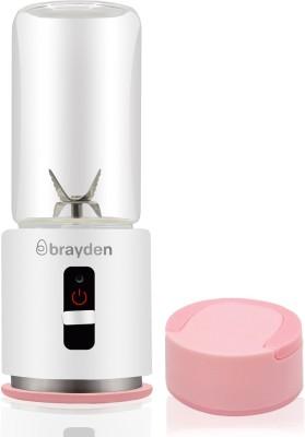 Brayden Fito Rush Portable Power Blender 7 Juicer(White, 1 Jar)