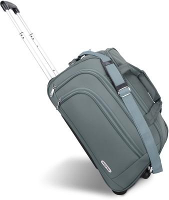 Novex 20 inch/50 cm solo Duffel Strolley Bag Grey Novex Duffel Bags