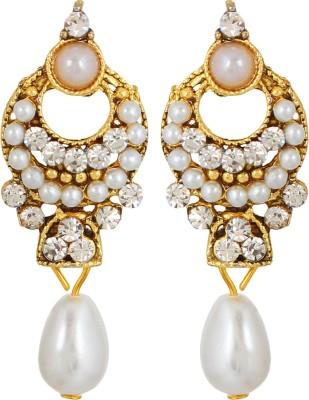 GoldNera Sonali Alloy Drops   Danglers GoldNera Earrings
