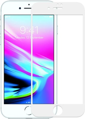 UbrosNetwork Edge To Edge Tempered Glass for Apple iPhone 8 Plus(Pack of 1)