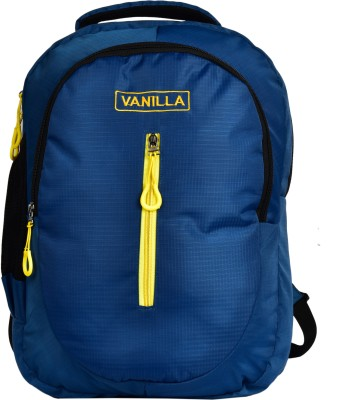 Vanilla 15.6 inch Expandable Laptop Backpack Blue