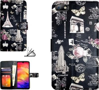 MYSHANZ Flip Cover for Micromax Bharat 5(Multicolor)