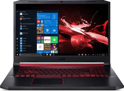 Acer Nitro 5 Core i5 9th Gen - (8 GB/1 TB HDD/256 GB SSD/Windows 10 Home/4 GB Graphics/NVIDIA Geforce GTX 1650) AN517-51 Gaming Laptop(17.3 inch, Obsidian Black, 2.7 kg)
