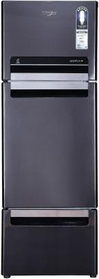 Whirlpool 300 L Frost Free Triple Door Refrigerator  (Steel Onyx, FP 313D Protton Roy)