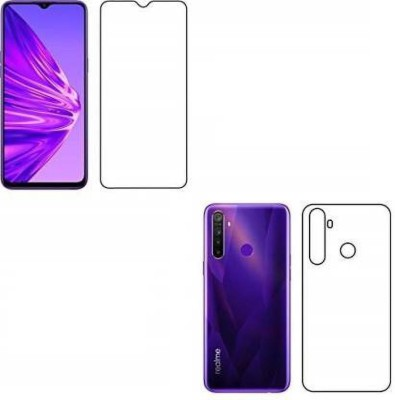 RUNEECH Front and Back Tempered Glass for Realme Narzo 20, Realme Narzo 20A, Realme C11, Realme C12, Realme C15, Realme C3, Realme 5, Realme 5i, Realme 5s, Oppo A9 2020, Oppo A5 2020, Realme Narzo 10, Realme Narzo 10A, Oppo A31(Pack of 2)
