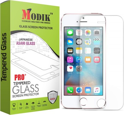 MODIK Tempered Glass Guard for Apple iPhone SE 5S 5 5C(Pack of 1)