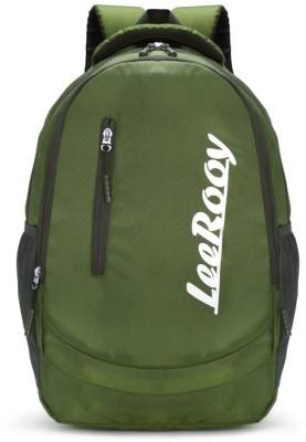 LeeRooy BG15green bagpack Waterproof Backpack Green, 20 L LeeRooy Laptop Bags