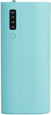msmi 15000 mAh Power Bank (Power Delivery 2.0)(Green, Lithium-ion)