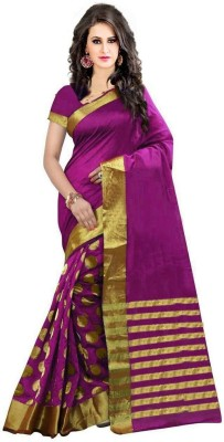 Woven Fashion Cotton Silk Saree
