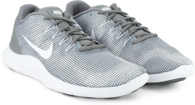 Nike FLEX 2018 RN Running Shoe For Men(Grey)
