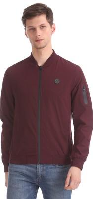 U.S.Polo Association Full Sleeve Solid Men Jacket