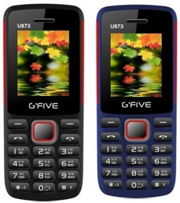 Gfive U873 Combo of Two(Black : Blue)