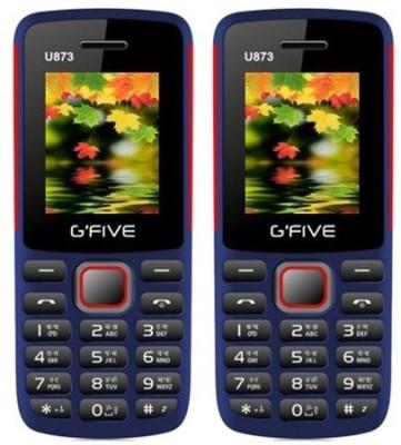 Gfive U873 Combo of Two(Blue : Blue)