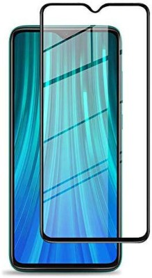Fovtyline Edge To Edge Tempered Glass for Mi Redmi Note 8(Pack of 1)