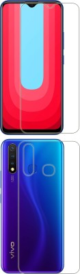 FashionCraft Front and Back Screen Guard for Vivo U20(Pack of 2)