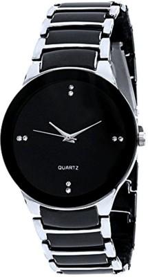 VEKARIYA IIK Silver Black Analog Watch   For Men VEKARIYA Wrist Watches