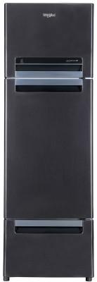 Whirlpool 330 L Frost Free Triple Door Refrigerator Steel Onyx, FP 343D PROTTON ROY STEEL ONYX N