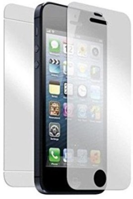 Firstkart Front and Back Tempered Glass for Apple iPhone 5s, Apple iPhone 5(Pack of 2)