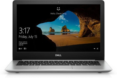 Dell Inspiron 13 5000 Core i5 8th Gen - (8 GB/256 GB SSD/Windows 10 Home) 5370 Thin and Light Laptop(13 inch, Platinum Silver, 1.4 kg, With MS Office) 1