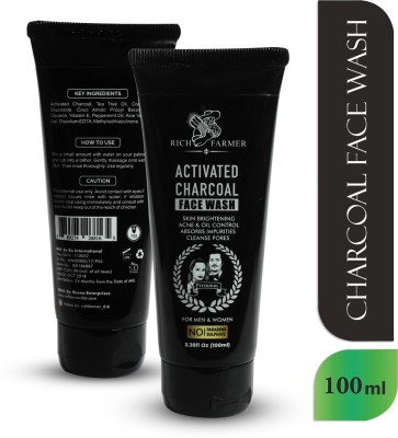 RICH FARMER Charcoal for Men and Women Acne Clean