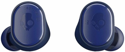 Skullcandy Sesh S2TDW-M704 Bluetooth Headset with Mic(Blue, In the Ear)
