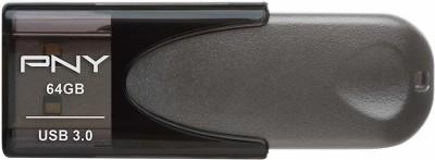 PNY Turbo Attache 4 64 GB Pen Drive(Grey)